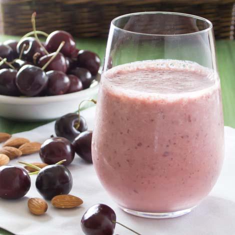 Cherry Almond Smoothie