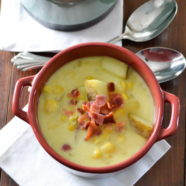 Creamy Corn Chowder | Pick Fresh Foods