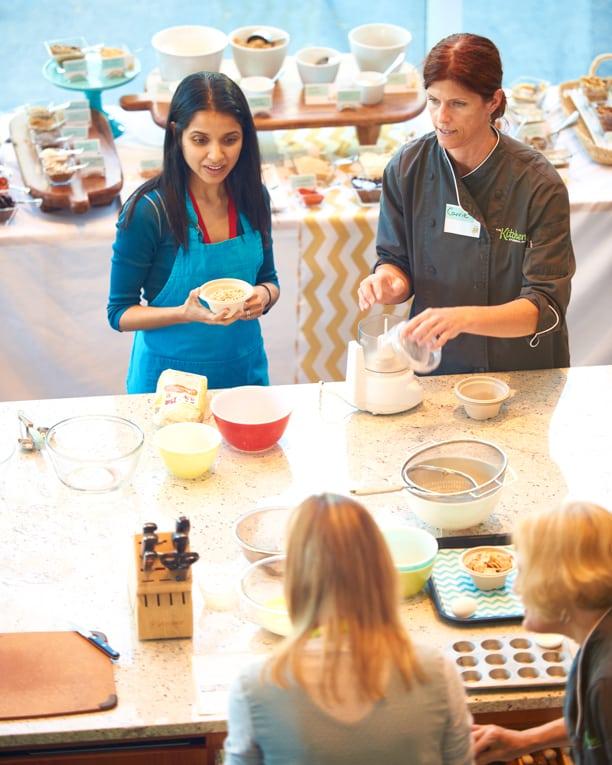 Anjali in General Mills Betty Crocker Test Kitchen