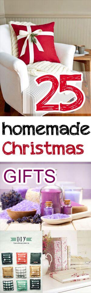 25 Homemade Christmas Gifts
