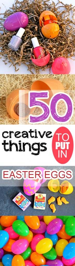 50 Creative Things to Put in Easter Eggs