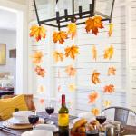 Thanksgiving decorations, decorating hacks, how to decorate for thanksgiving, fall holiday, popular pin, frugal living, cheap holiday decor.