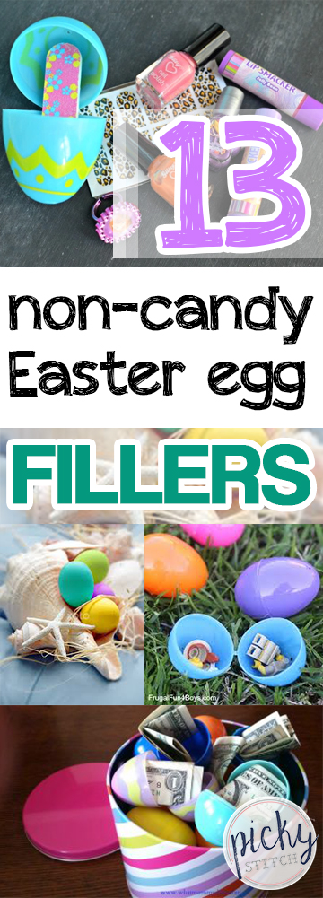 13 Non-Candy Easter Egg Fillers