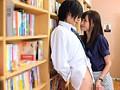 図書館で生徒に手コキする女教師 希志あいの