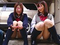 東京パンチラ天国 女子校生 2画面盗撮