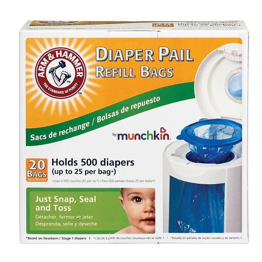 Fullsize Of Munchkin Diaper Pail Refills