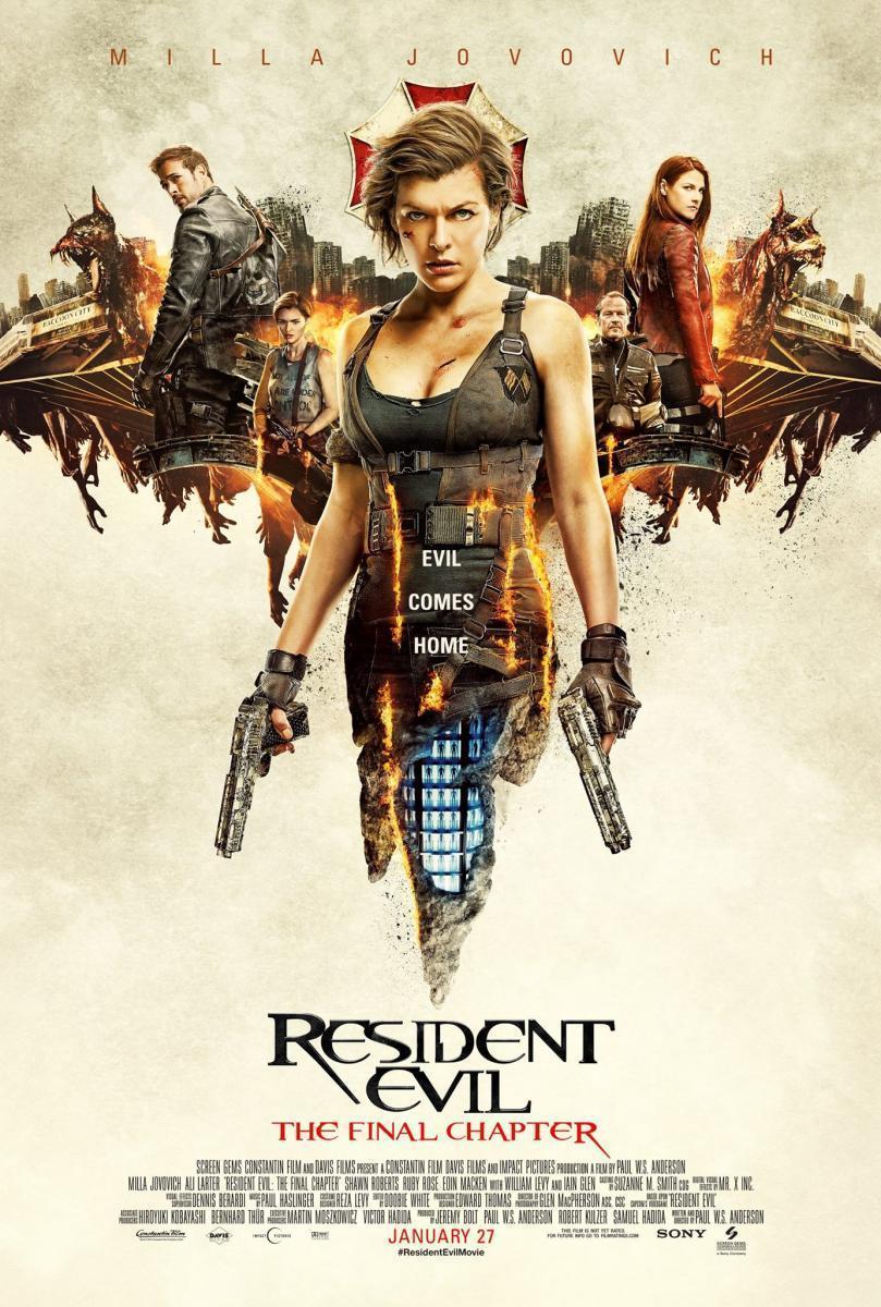 Resultado de imagen para Resident Evil El Capitulo Final (2017)