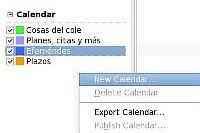 creando un nuevo calendario en lightning