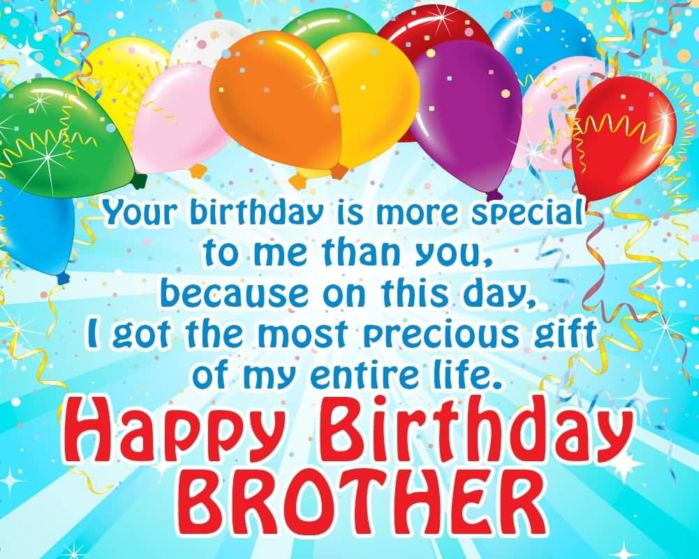Best Brother Happy Birthday Wishes For All The Brothers And Sisiters