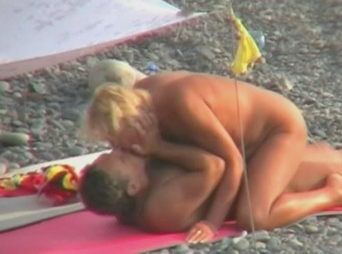 naked beach cartoons