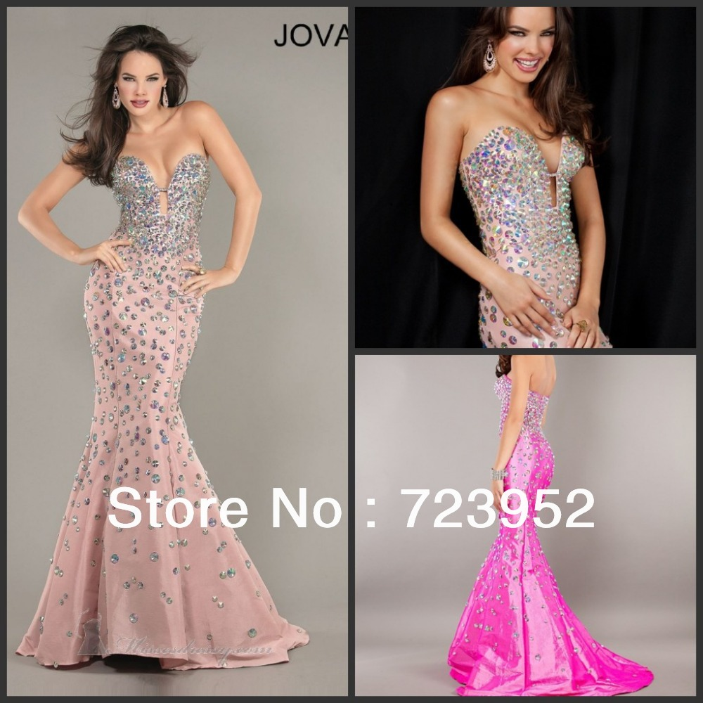 glitter wedding dress Aliexpress com Buy Newest Mermaid Dress Sexy Low Cut Princess Luxury Full Heavy Jeweled Beading Sparkle Glitter Women Formal Evening dresses from