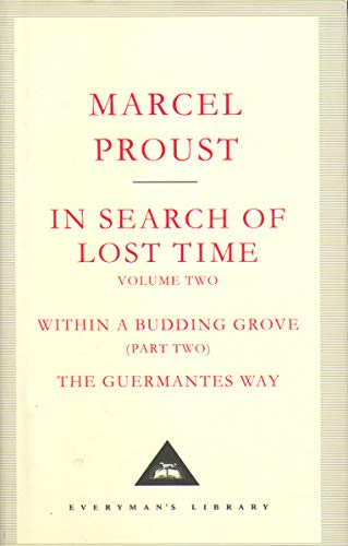 9781841598970: In Search Of Lost Time Volume 2 (Everyman's Library Classics) (v. 2) - AbeBooks ...