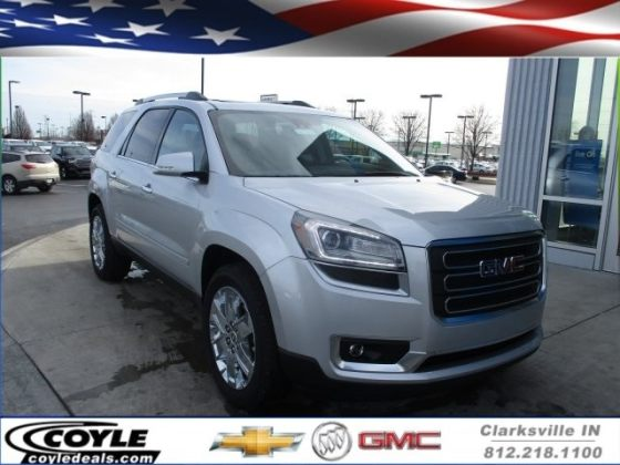 New 2017 GMC Acadia Limited For Sale   Clarksville IN 2017 GMC Acadia Limited Limited SUV