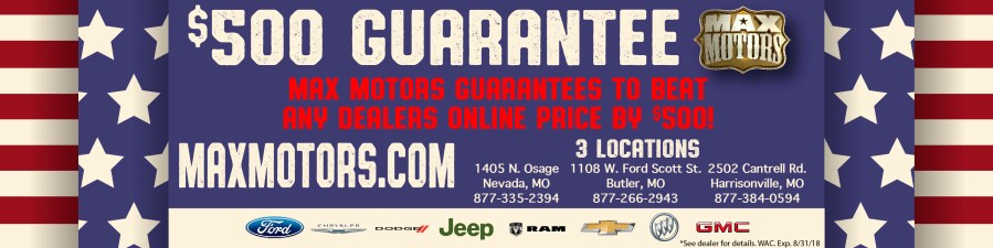 Max Motors Dealerships   New Dodge  Jeep  Buick  Chevrolet  Ford     New Managers Specials