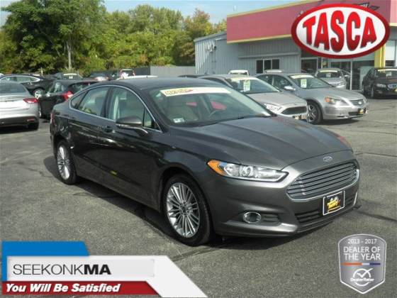 Tasca Automotive Group   Vehicles for sale in Cranston  RI 02920 2016 Ford Fusion SE Sedan