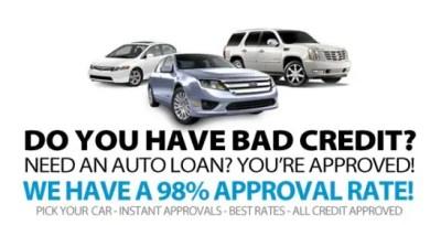 Bad credit financing at Walt's Live Oak Ford near Gainville, Valdosta, GA