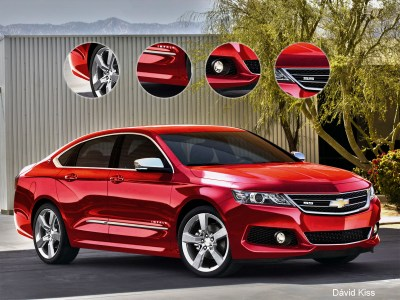 2015 Chevrolet Impala SS   Top Speed