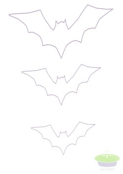 Small Of Bat Cut Out