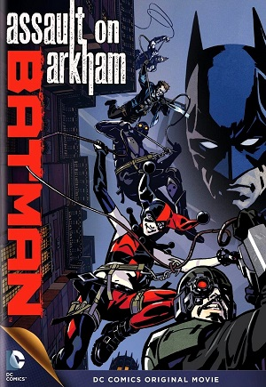 DVD - Batman Assault On Arkham - 2014
