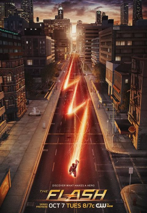 Poster - The Flash - S1 - 2014