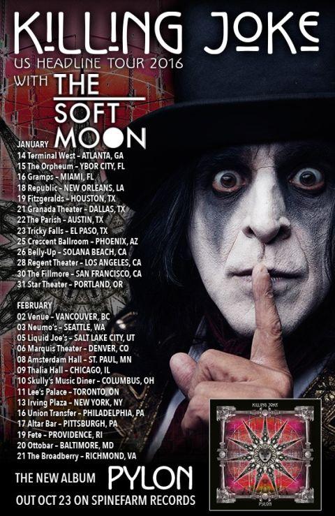 Tour - Killing Joke - US 2016