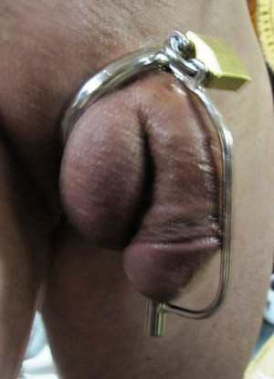 male training chastity