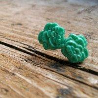 Cute as a Button: DIY Earring Tutorial