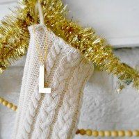 DIY: Cozy Sweater Stockings