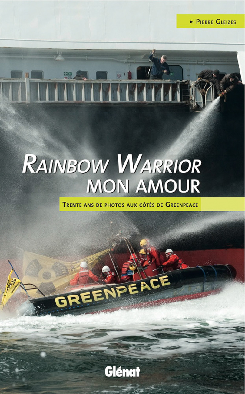 couverture Rainbow Warrior mon amour, glenat