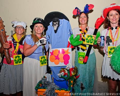 Cromer carnival fancy dress group
