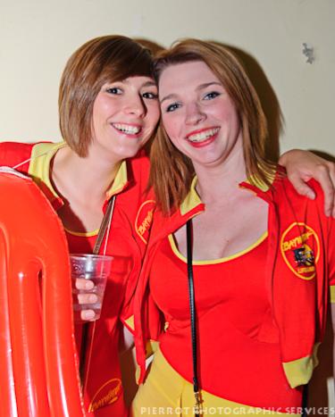 Cromer carnival fancy dress lifeguard girls