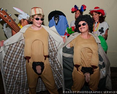 Cromer carnival fancy dress naughty willies exposure