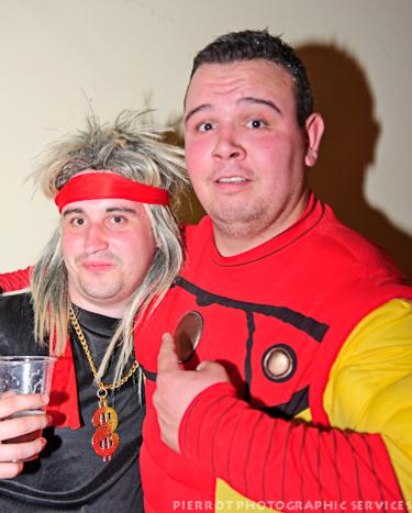 Cromer carnival fancy dress superman and friend