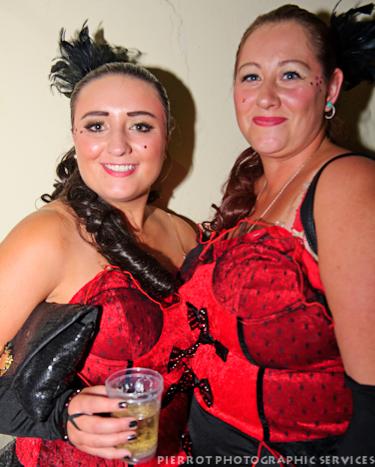 Cromer carnival fancy dress two very pretty girls in spanish costumes