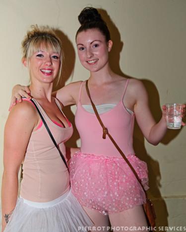 Cromer carnival fancy dress two ballerinas