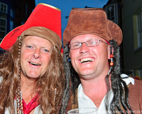 Cromer carnival fancy dress two pirates