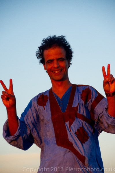 Ahmed, our Moroccan guide