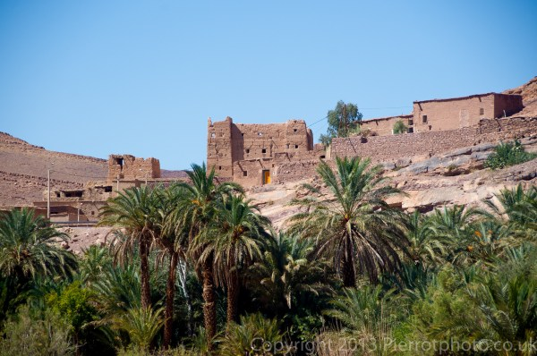 Typical Moroccan village