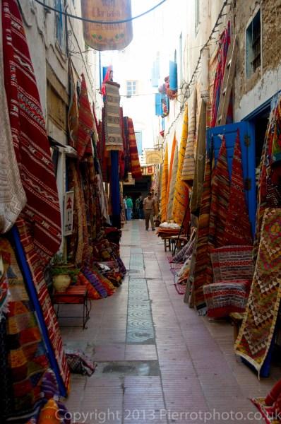 In the souk in Essaouira, Morocco