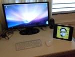 iPad Halterung breitformat