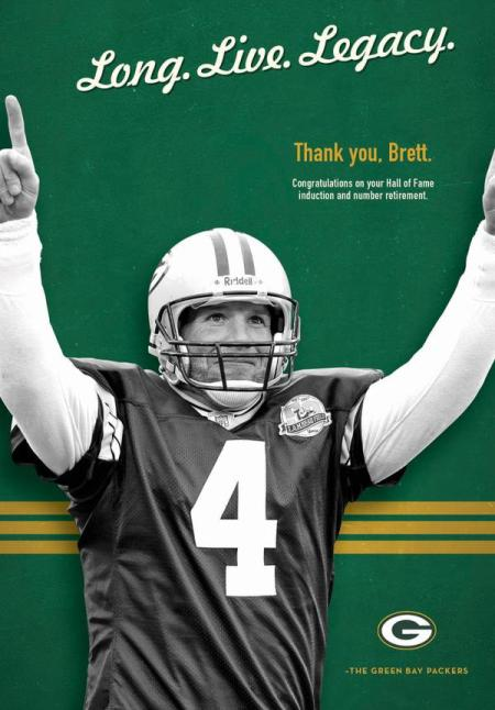 (Photo: Green Bay Packers)