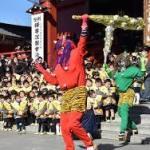 節分は神社寺で東京近郊人気の豆まきイベント!!芸能人や有名角界格闘家❣