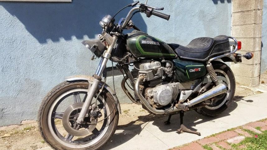 1980 Honda CM400T 1