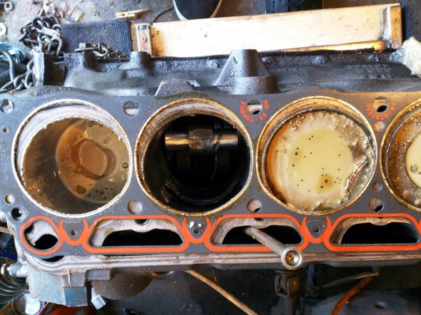 Ford 200 Missing Piston