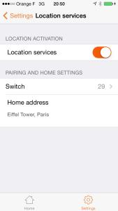 Pilot: location services correctly setup