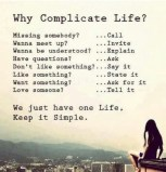 Why complicate life? #yoga #fitness #health #motivation #inspiration {PilotingPaperAirplanes.com}