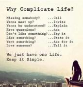 Why complicate life? #yoga #fitness #health #motivation #inspiration {PilotingPaperAirplanes.com}