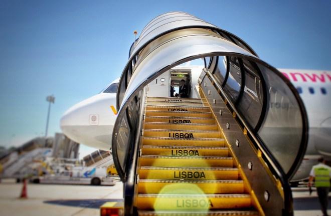 Germanwings Airbus A320 am Flughafen Lissabon