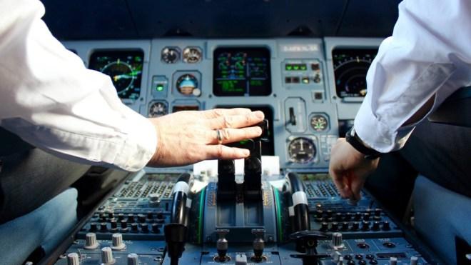 Jumpseat Cockpit Airbus A320 Germanwings