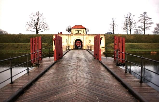 Das Barock-Portal des Kastells